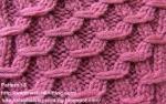 background knitting pattern